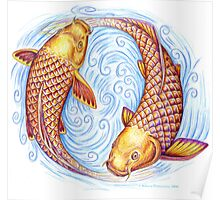 Pisces Fish Poster