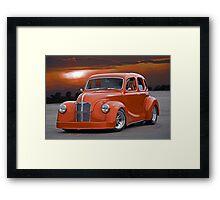 1949 Austin A40 Devon 'Pro Street' Framed Print