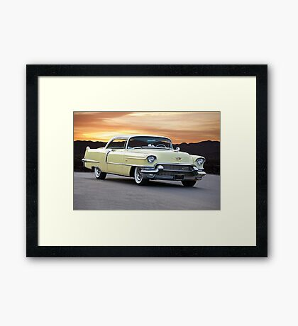 1954 Cadillac Coupe DeVille Framed Print