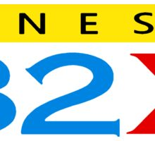 Sega 32X Logo Sticker