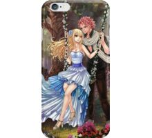 Flower swing (NaLu) iPhone Case/Skin