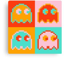 Pac-Man Ghost  Canvas Print