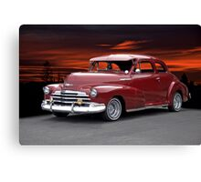 1947 Chevrolet 'Style Master' Coupe Canvas Print