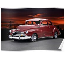 1947 Chevrolet 'Style Master' Coupe Poster