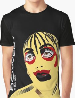 LEIGH BOWERY TABOO BLACK Graphic T-Shirt