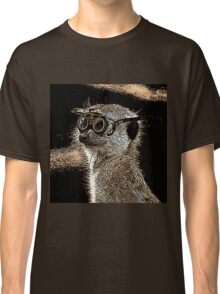 Steampunk Mongoose with Goggles and Attitude Classic T-Shirt