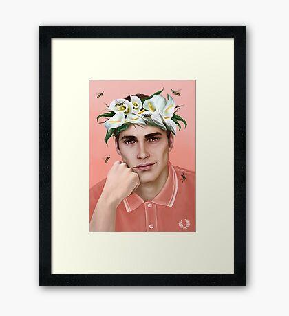 Flower King Framed Print