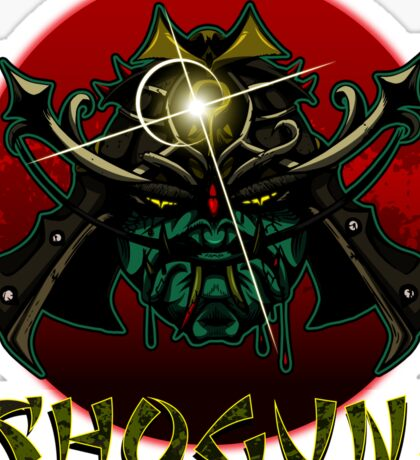 SHOGUN! Sticker