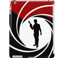 Han Solo - James Bond - Mix up - Death - Minimal - Star Wars - 007 - Black White Red iPad Case/Skin