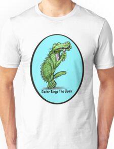 Gator Sings The Blues   Unisex T-Shirt
