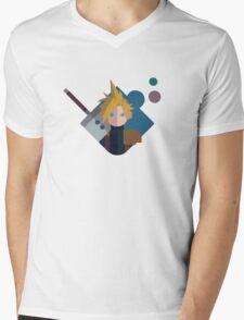 Cloud FF Logo Mens V-Neck T-Shirt