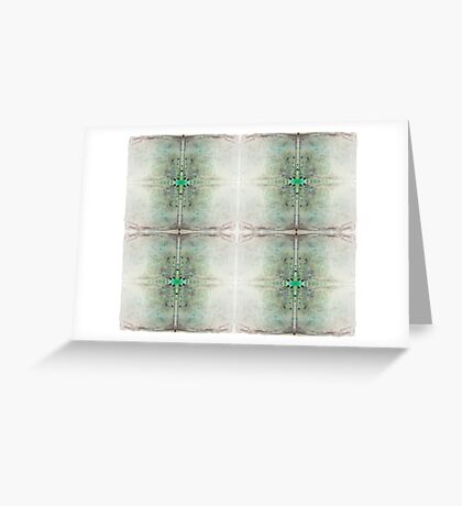 Beautiful elegant unique ink design for textile prints Greeting Card