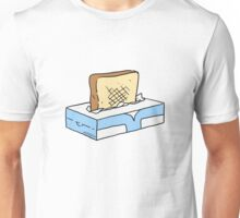 Toast in Tissue Box Unisex T-Shirt