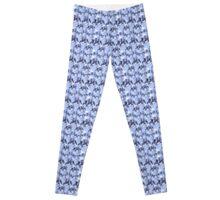 Blue horses Fantasia Leggings
