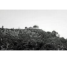 Trail to Griffith Observatory  Photographic Print