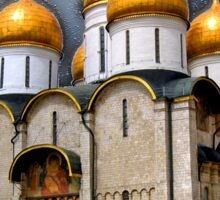 Dormition Cathedral, Kremlin, Moscow Sticker