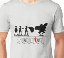 Evolution of Luffy Unisex T-Shirt