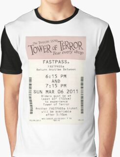 Tower of Terror Fastpass Graphic T-Shirt