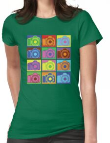 Warhol Cameras Womens Fitted T-Shirt