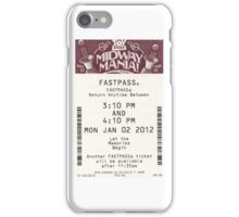 Toy Story Midway Mania Fastpass iPhone Case/Skin