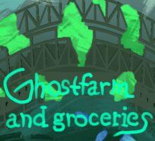 Ghostface n grocerieeesis Sticker