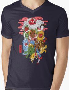 Monster Parade Mens V-Neck T-Shirt