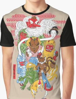 Monster Parade Graphic T-Shirt