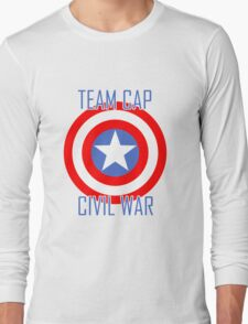 Civil War - Team Cap  T-Shirt