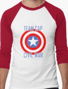 Civil War - Team Cap  Men's Baseball ¾ T-Shirt