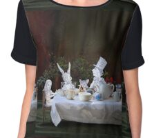 Alice in Wonderland/The Tea Party Chiffon Top