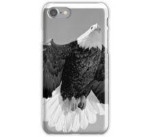 BW eagle iPhone Case/Skin
