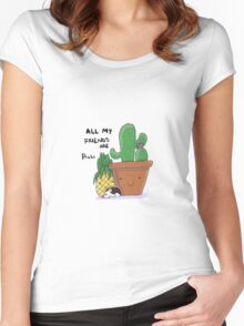 Prickly Pals Women's Fitted Scoop T-Shirt