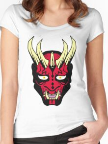 Oni Maul! Women's Fitted Scoop T-Shirt