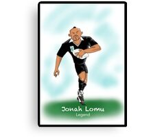 Jonah Lomu- Legend Canvas Print