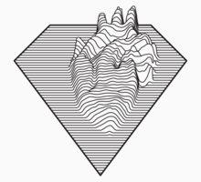 Super Heart One Piece - Short Sleeve