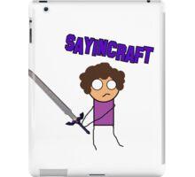 Team Sayincraft (THE MLG Purple Guy) iPad Case/Skin
