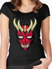 Oni Maul! II Women's Fitted Scoop T-Shirt