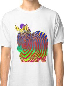 Psychedelic Zebra Classic T-Shirt