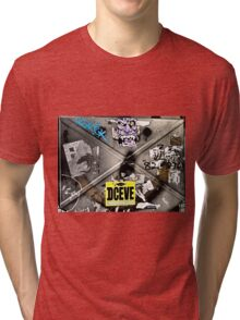 deceive...street art...Hong Kong Tri-blend T-Shirt