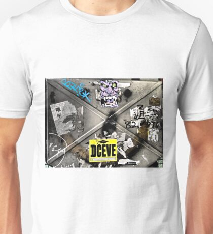 deceive...street art...Hong Kong Unisex T-Shirt