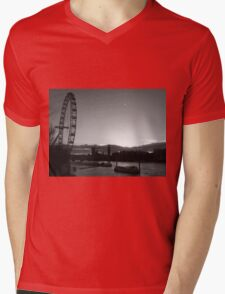 London...blink of a moment...caught it... Mens V-Neck T-Shirt