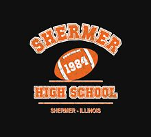 The Breakfast Club - Shermer High School (Distressed Variant) Womens Fitted T-Shirt