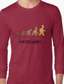 Homer Evolution Long Sleeve T-Shirt