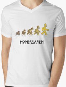 Homer Evolution Mens V-Neck T-Shirt