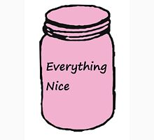 "Pink ""Everything Nice"" Jar Women's Fitted Scoop T-Shirt"