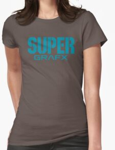 Super Grafx Logo Womens Fitted T-Shirt
