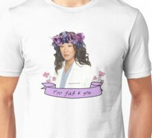 Cristina too fab Unisex T-Shirt
