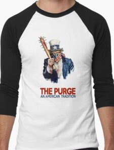 the Purge Men's Baseball ¾ T-Shirt