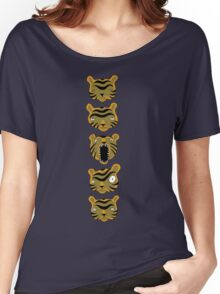 Tiger Buttons Women's Relaxed Fit T-Shirt