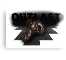 OUTLAST SQUIDDY Canvas Print